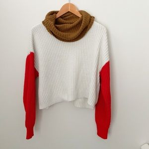 Forever 21 Knit cowl neck sweater